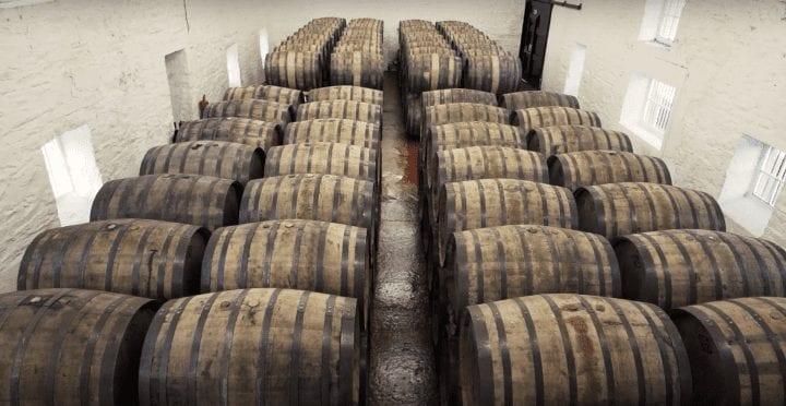Scottish whisky casks